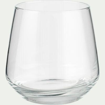 Coffret de 6 gobelets en verre - transparent 34,5cl-LAL