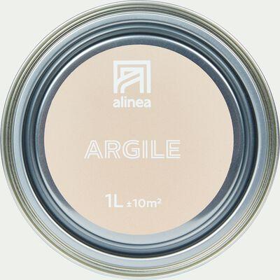 Peinture acrylique mate multi-supports - rose argile 1L-PEINTURE