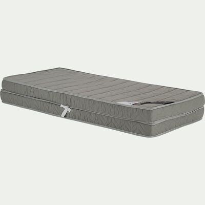Matelas double mousse alinea pour lit gigogne H12cm - 2x90x200cm-DOBLA