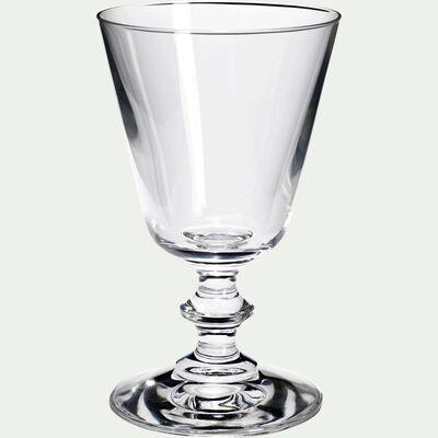 Verre à vin en cristallin - transparent 19cl-France