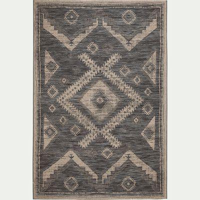 Tapis aux motifs traditionnels - noir 160x230cm-BALI
