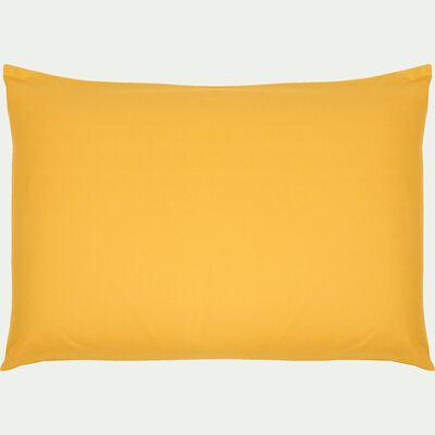 Lot de 2 taies d'oreiller en coton - jaune genet 50x70cm-CALANQUES