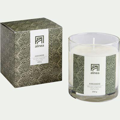 Bougie parfumée Amande 250g-AMANDE
