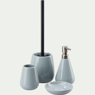 Set de salle de bain en pierre - bleu calaluna-EUPHORBE