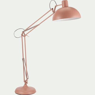 Lampadaire en métal grège H178cm-XXL
