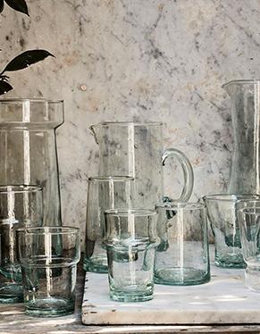 verre et carafe
