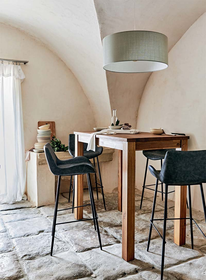 table haute rectangulaire