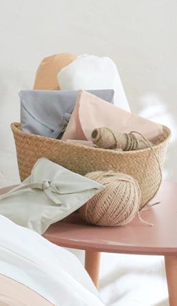 linge de lit en coton calanques
