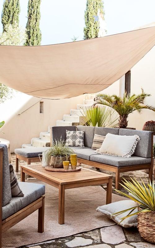 salon de jardin confortable issandres