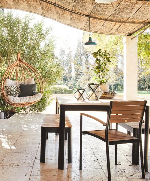table de jardin tendance
