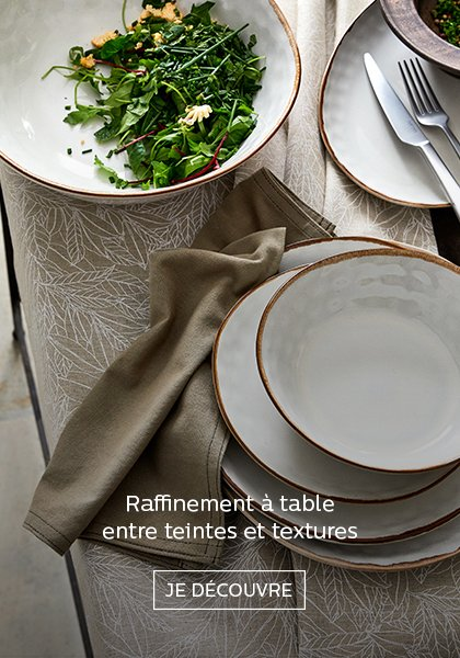linge de table alinea