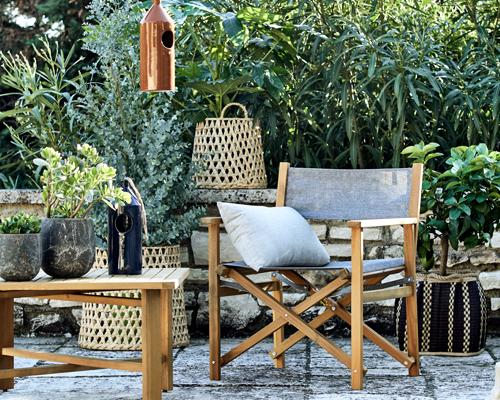 fauteuil de jardin pliable