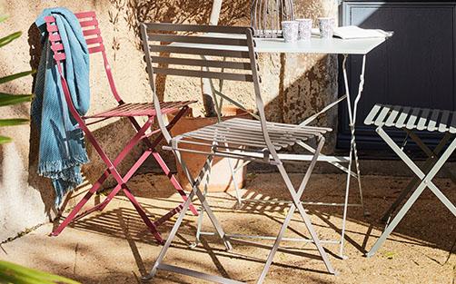 tables de jardin pliantes - meubles et décoration | alinea