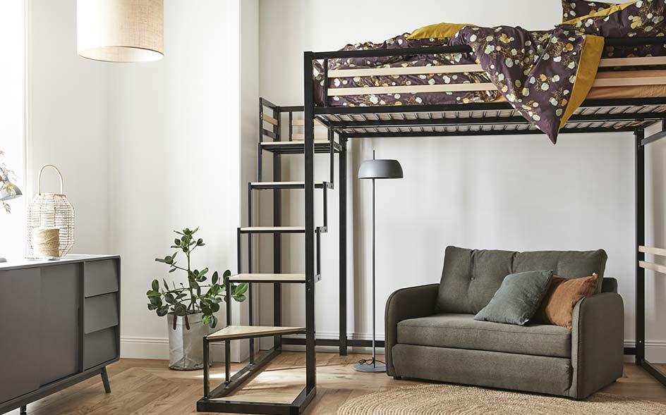 lits mezzanine meubles et d coration alinea
