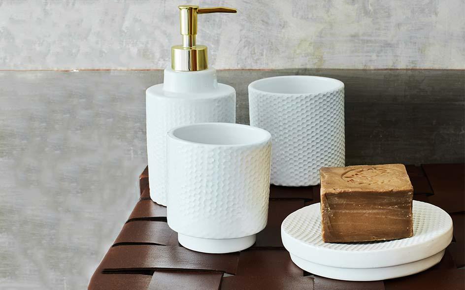 accessoires de salle de bain vente en ligne alinea. Black Bedroom Furniture Sets. Home Design Ideas
