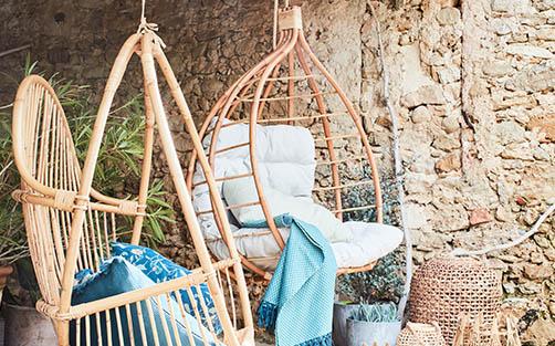 mobilier de jardin bambou et rotin - meubles et décoration ...