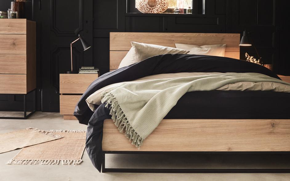 lit adulte meuble chambre adulte alinea