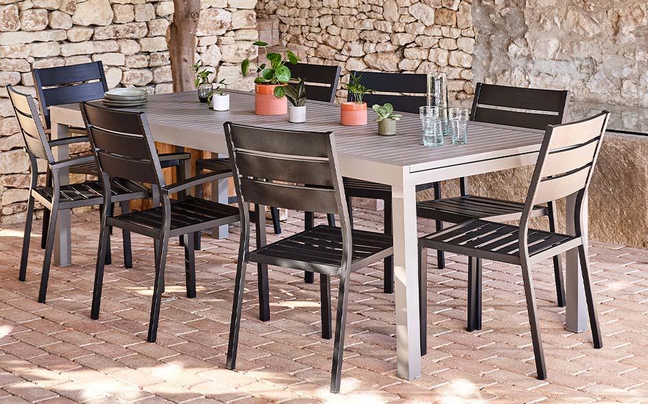 Tables et chaises de jardin en soldes | alinea