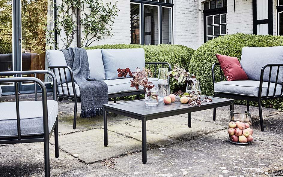 Salon de jardin - bois, aluminium, acier | alinea