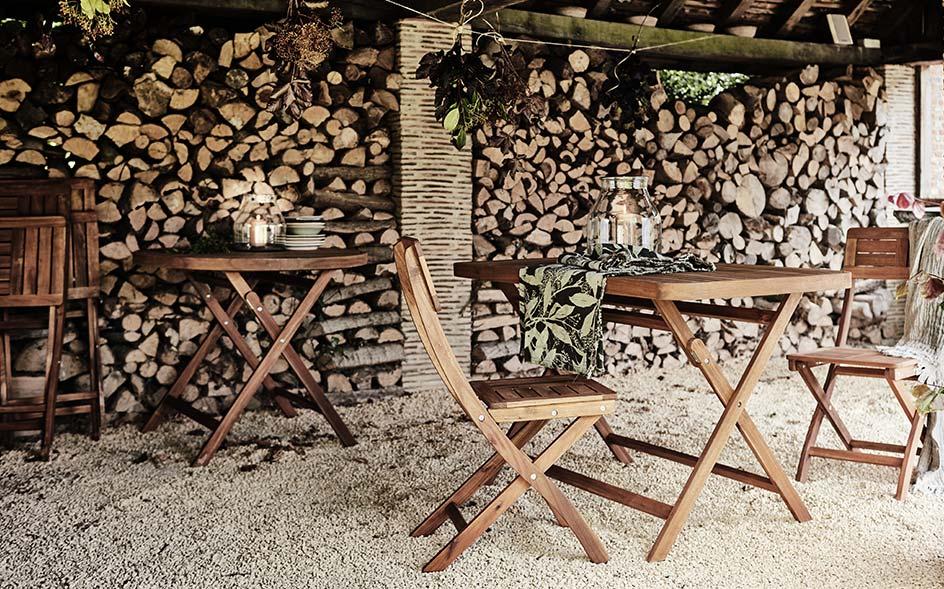 Tables et chaises de jardin - bois, alu ou métal | alinea