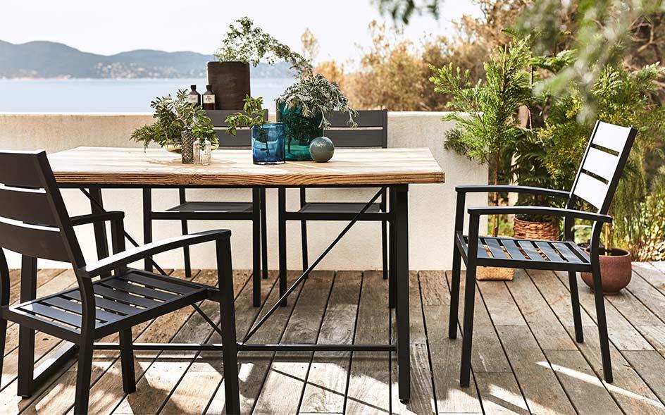 Table D Exterieur Meubles De Jardin Alinea