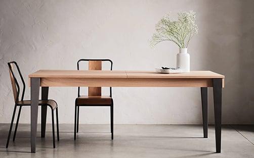 alinea table et chaise cuisine noir