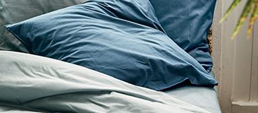 linge de lit coton alinea